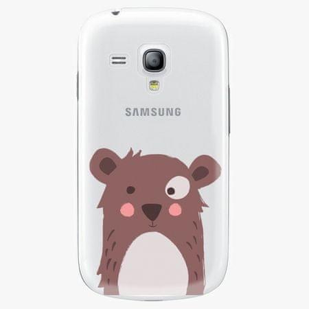 iSaprio Plastový kryt - Brown Bear - Samsung Galaxy S3 Mini