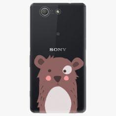 iSaprio Plastový kryt - Brown Bear - Sony Xperia Z3 Compact