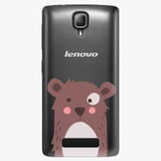 iSaprio Plastový kryt - Brown Bear - Lenovo A1000