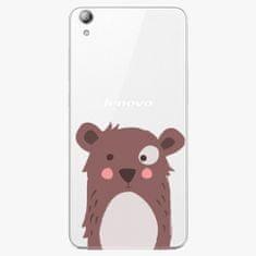 iSaprio Plastový kryt - Brown Bear - Lenovo S850