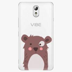 iSaprio Plastový kryt - Brown Bear - Lenovo P1m