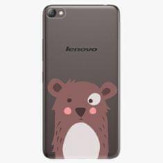 iSaprio Plastový kryt - Brown Bear - Lenovo S60