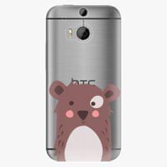 iSaprio Plastový kryt - Brown Bear - HTC One M8