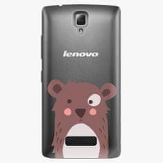 iSaprio Plastový kryt - Brown Bear - Lenovo A2010
