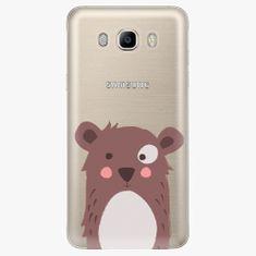 iSaprio Plastový kryt - Brown Bear - Samsung Galaxy J7 2016
