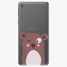 iSaprio Plastový kryt - Brown Bear - Sony Xperia E5