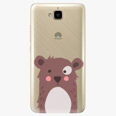 iSaprio Plastový kryt - Brown Bear - Huawei Y6 Pro