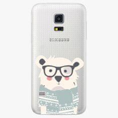 iSaprio Plastový kryt - Bear With Scarf - Samsung Galaxy S5 Mini