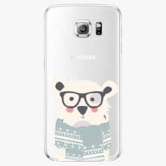 iSaprio Plastový kryt - Bear With Scarf - Samsung Galaxy S6 Edge Plus