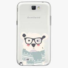 iSaprio Plastový kryt - Bear With Scarf - Samsung Galaxy Note 2