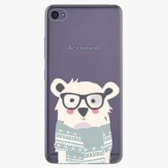 iSaprio Plastový kryt - Bear With Scarf - Lenovo S90