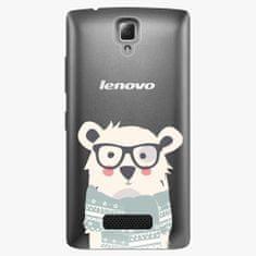 iSaprio Plastový kryt - Bear With Scarf - Lenovo A2010