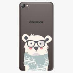 iSaprio Plastový kryt - Bear With Scarf - Lenovo S60
