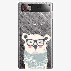 iSaprio Plastový kryt - Bear With Scarf - Lenovo Z2 Pro