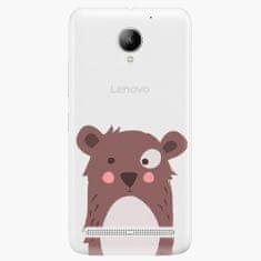 iSaprio Plastový kryt - Brown Bear - Lenovo C2