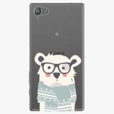 iSaprio Plastový kryt - Bear With Scarf - Sony Xperia Z5 Compact