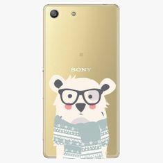 iSaprio Plastový kryt - Bear With Scarf - Sony Xperia M5