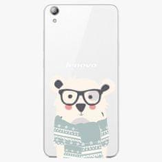 iSaprio Plastový kryt - Bear With Scarf - Lenovo S850