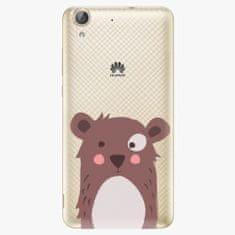 iSaprio Plastový kryt - Brown Bear - Huawei Y6 II