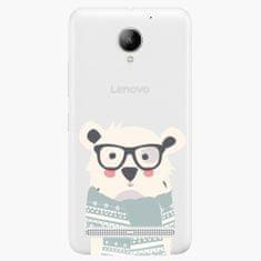 iSaprio Plastový kryt - Bear With Scarf - Lenovo C2
