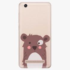 iSaprio Plastový kryt - Brown Bear - Xiaomi Redmi 4A