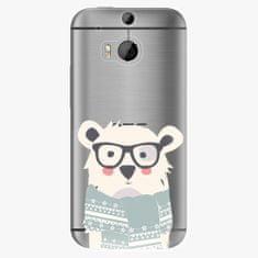iSaprio Plastový kryt - Bear With Scarf - HTC One M8