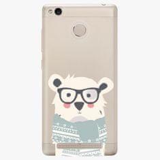 iSaprio Plastový kryt - Bear With Scarf - Xiaomi Redmi 3S