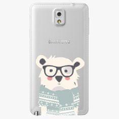iSaprio Plastový kryt - Bear With Scarf - Samsung Galaxy Note 3