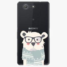iSaprio Plastový kryt - Bear With Scarf - Sony Xperia Z3 Compact