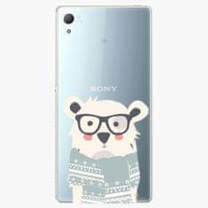 iSaprio Plastový kryt - Bear With Scarf - Sony Xperia Z3+ / Z4