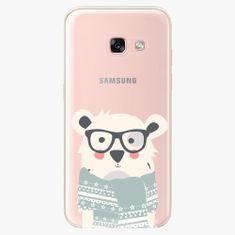 iSaprio Plastový kryt - Bear With Scarf - Samsung Galaxy A3 2017
