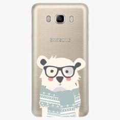 iSaprio Plastový kryt - Bear With Scarf - Samsung Galaxy J7 2016