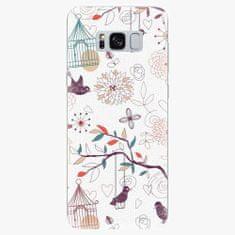 iSaprio Silikonové pouzdro - Birds - Samsung Galaxy S8