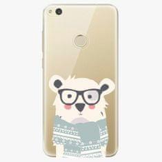 iSaprio Plastový kryt - Bear With Scarf - Huawei P8 Lite 2017