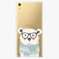 iSaprio Plastový kryt - Bear With Scarf - Sony Xperia XA1 Ultra