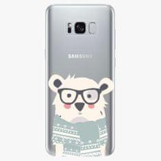 iSaprio Plastový kryt - Bear With Scarf - Samsung Galaxy S8