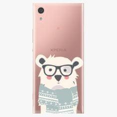 iSaprio Plastový kryt - Bear With Scarf - Sony Xperia XA1