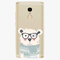 iSaprio Plastový kryt - Bear With Scarf - Xiaomi Redmi Note 4