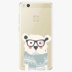 iSaprio Plastový kryt - Bear With Scarf - Huawei P10 Lite