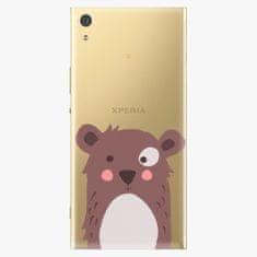 iSaprio Plastový kryt - Brown Bear - Sony Xperia XA1 Ultra
