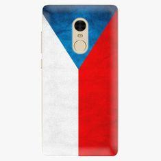 iSaprio Plastový kryt - Czech Flag - Xiaomi Redmi Note 4