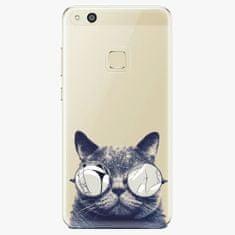 iSaprio Plastový kryt - Crazy Cat 01 - Huawei P10 Lite
