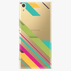 iSaprio Plastový kryt - Color Stripes 03 - Sony Xperia XA1 Ultra