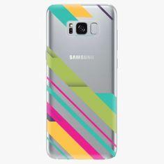 iSaprio Plastový kryt - Color Stripes 03 - Samsung Galaxy S8