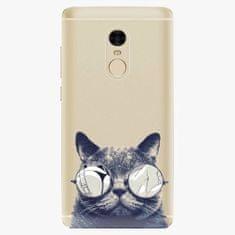 iSaprio Plastový kryt - Crazy Cat 01 - Xiaomi Redmi Note 4
