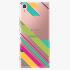 iSaprio Plastový kryt - Color Stripes 03 - Sony Xperia XA1
