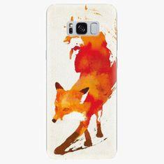 iSaprio Silikonové pouzdro - Fast Fox - Samsung Galaxy S8
