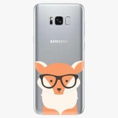 iSaprio Silikonové pouzdro - Orange Fox - Samsung Galaxy S8