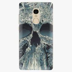 iSaprio Plastový kryt - Abstract Skull - Xiaomi Redmi Note 4