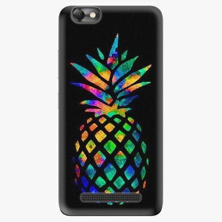 iSaprio Plastový kryt - Rainbow Pineapple - Lenovo Vibe C